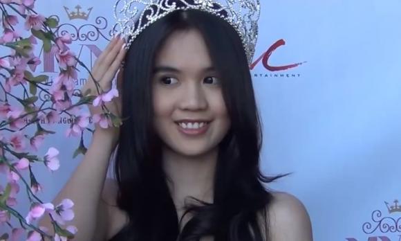 Hoa hậu Thuỳ Lâm, clip hot, clip ngôi sao