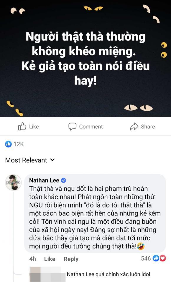 Nathan Lee, Ngọc Trinh, sao Việt