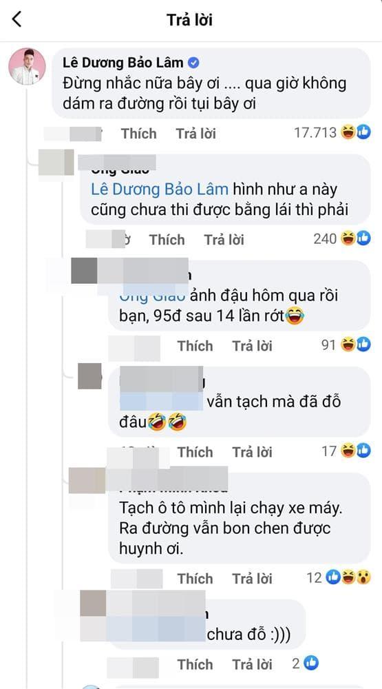 Lê Dương Bảo Lâm, Nam diễn viên, Sao Việt
