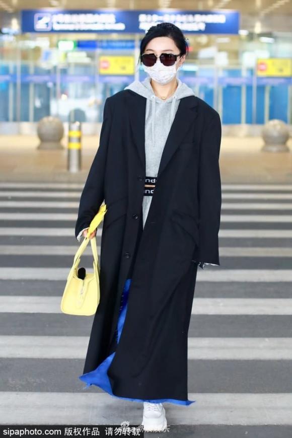 phạm băng băng, túi xách, phụ kiện, thời trang sân bay
