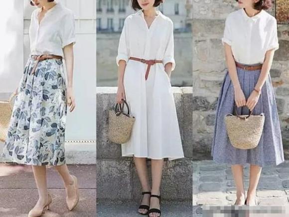 thời trang cho phụ nữ tuổi 40, thời trang hè, phụ nữ tuổi 40 mặc đẹp