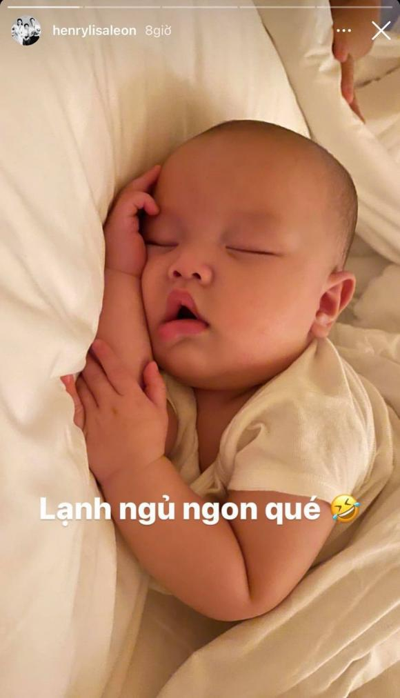 ca sĩ Hồ Ngọc Hà, sao Việt, con trai Hà Hồ, con trai Hồ Ngọc Hà