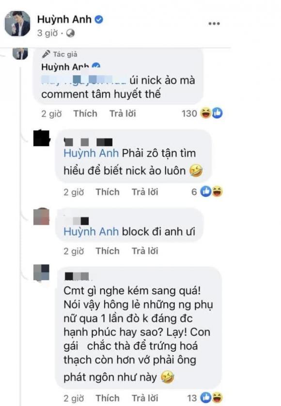 diễn viên Huỳnh Anh, MC Hoàng Oanh, sao Việt