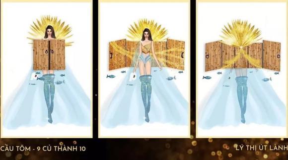 Miss International Queen, Hoa hậu Chuyển giới Quốc tế 2020, quốc phục, cầu tõm