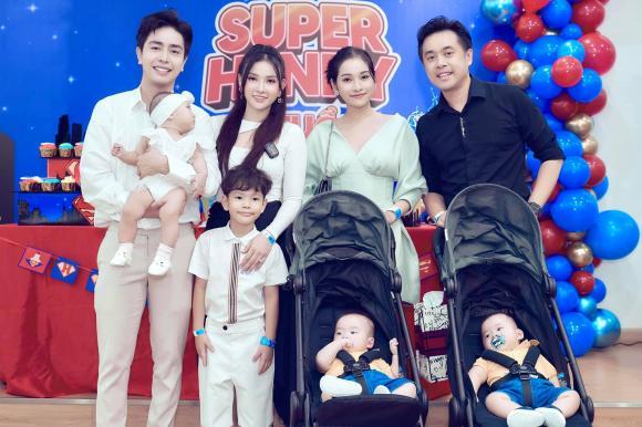 Kin Nguyễn, Thu Thủy, Henry, Sinh nhật, Sao Việt
