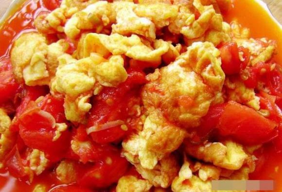 dạy nấu ăn, trứng cà chua, món trứng,