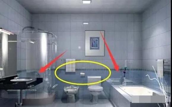 nhà vệ sinh, phong thuỷ, phòng tắm