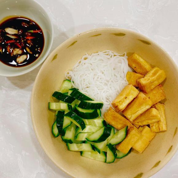 Elly Trần, Elly Trần ăn chay, thực đơn món chay