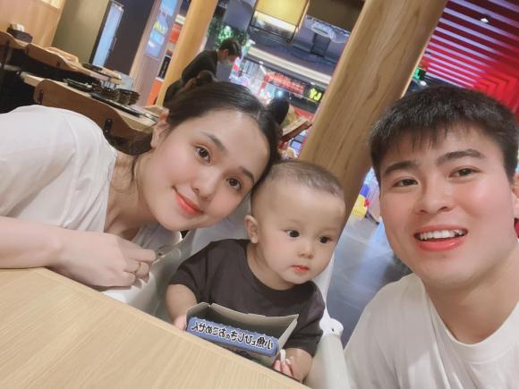 Duy Mạnh, Quỳnh Anh, vợ Duy Mạnh, con trai Duy Mạnh
