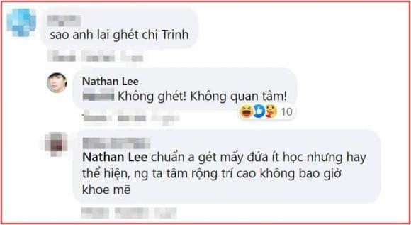 Ngọc Trinh, Nathan Lee, sao Việt
