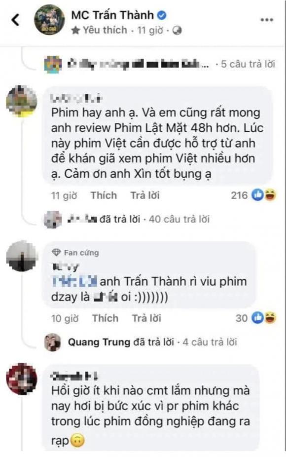 danh hài Trấn Thành, ca sĩ Lý Hải, sao Việt