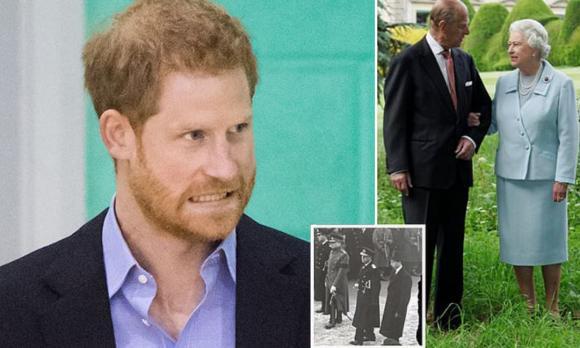 meghan markle, archie, hoàng thân philip, hoàng gia anh