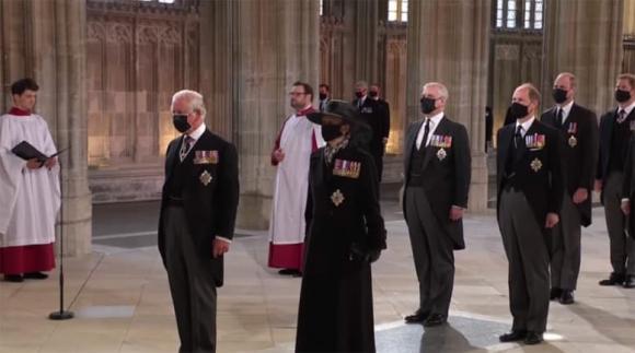 Hoàng thân Philip, nữ hoàng anh, hoàng gia anh, tang lễ