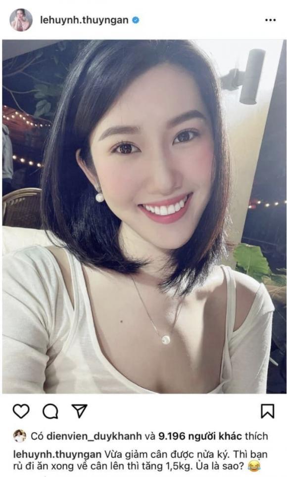 diễn viên Thuý Ngân, ca sĩ Trương Thế Vinh, sao Việt