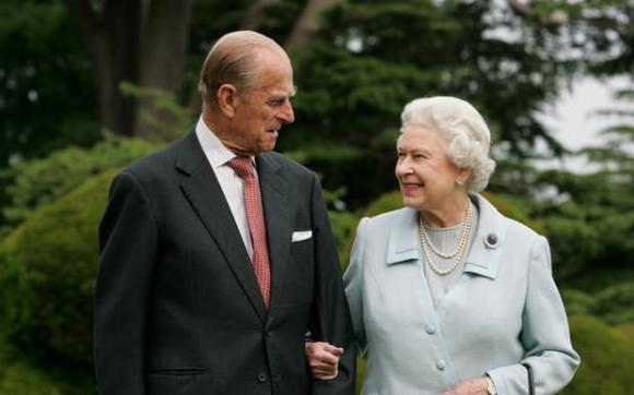 nữ hoàng anh, hoàng thân philip