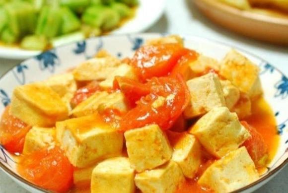 món ngon mỗi ngày, đậu phụ sốt cà chua, ẩm thực gia đình