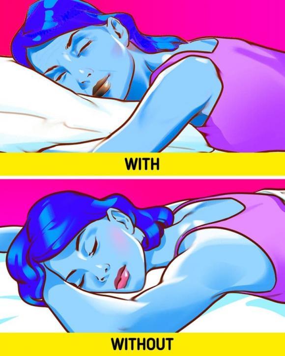 ngủ không có gối, cách chăm sóc da, làm đẹp