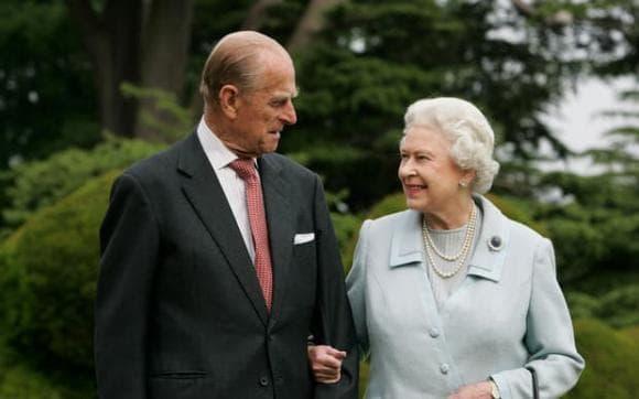 hoàng thân philip, nữ hoàng anh