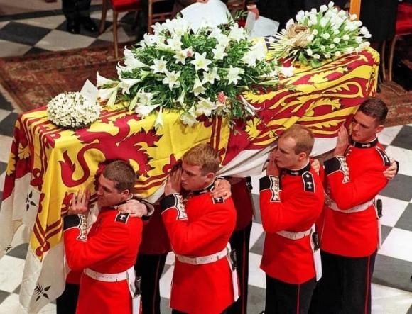 Hoàng thân Philip, hoàng gia anh, đám tang
