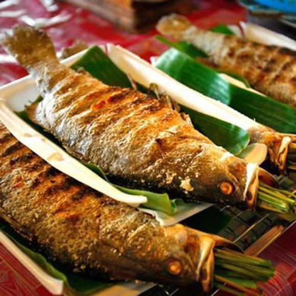 cá nướng, nướng cá, món ngon từ cá