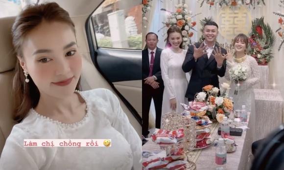 Ninh Dương Lan Ngọc, em dâu Ninh Dương Lan Ngọc, đám cưới em trai Ninh Dương Lan Ngọc