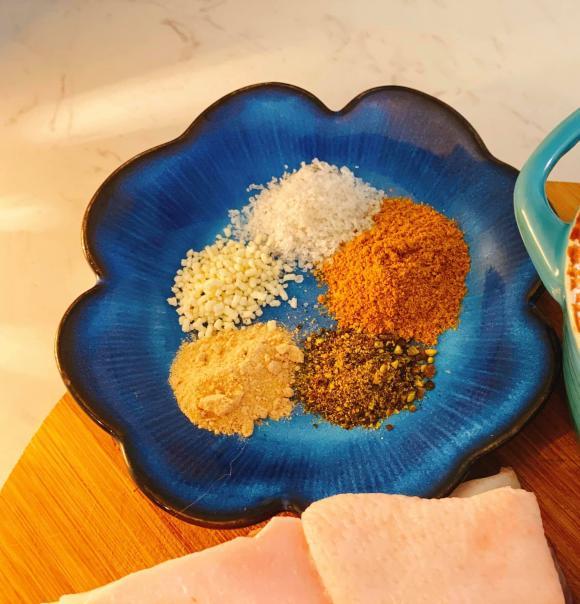 thịt quay,  thịt quay bằng nồi chiên không dầu, món ngon