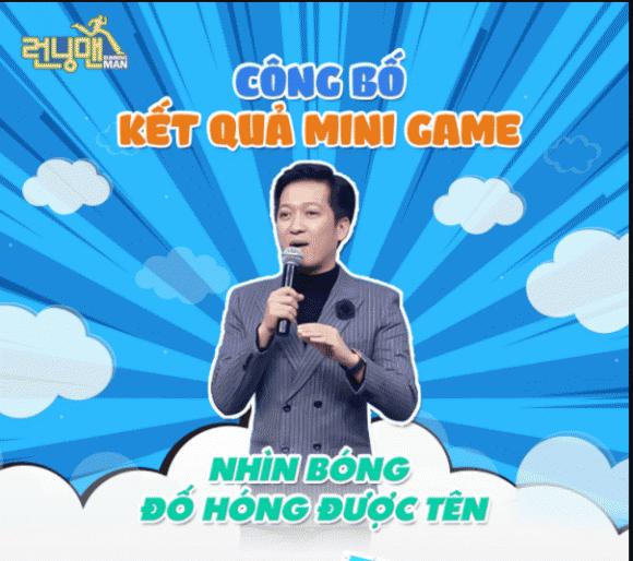 Trường Giang, Running Man Vietnam 2021, Sao Việt