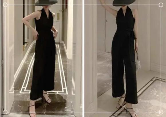 jumpsuit, áo liền quần, mẹo mặc đẹp, thời trang