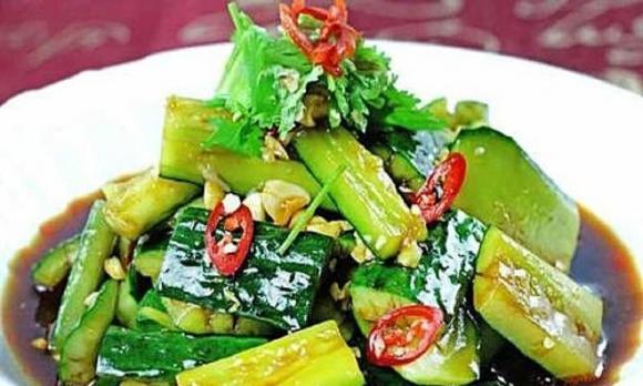 món ngon mỗi ngày, ẩm thực gia đình, salad rau diếp ngồng