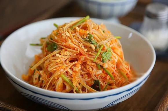 rau cải bắp trộn, món ngon, cách nấu ăn