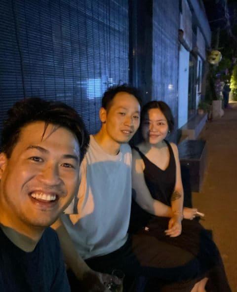 Em chồng Tăng Thanh Hà, bạn trai Linh Rin, thanh niên