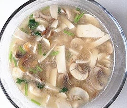 ẩm thực gia đình, món ngon mỗi ngày, đậu phụ hầm nấm