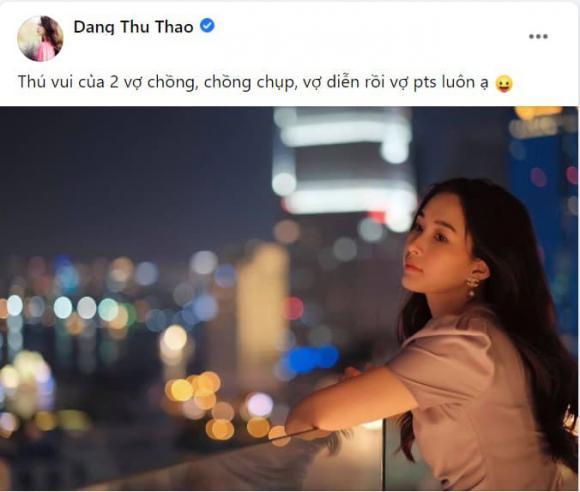 Hoa hậu Đặng Thu Thảo, Đặng Thu Thảo, chồng Đặng Thu Thảo