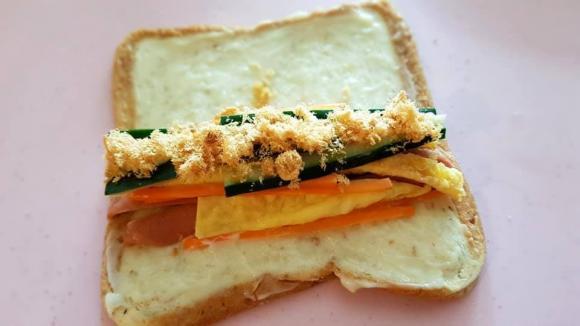 bánh mì cuộn, cách làm bánh mì cuộn, món ngon