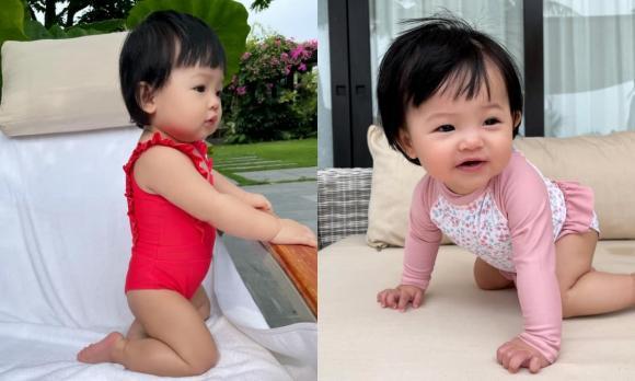 doanh nhân cường đô la,nữ ca sĩ đàm thu trang, con gái Cường Đô La, bé Suchin, sao Việt