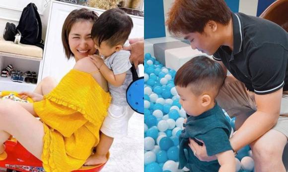 Hòa Minzy, Hòa Minzy và chồng, con trai Hòa Minzy, sao việt