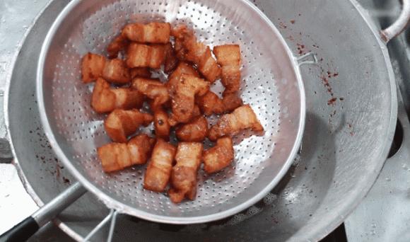 món ba chỉ heo chiên nước mắm, món ngon, cách nấu ăn