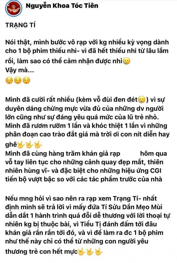 Tóc Tiên, Trạng Tí, Ngô Thanh Vân, Sao Việt
