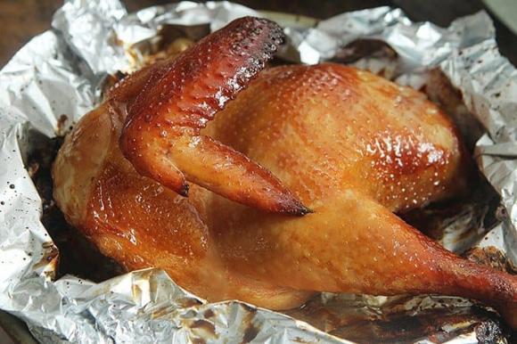 gà nướng, cách làm gà nướng, món ngon