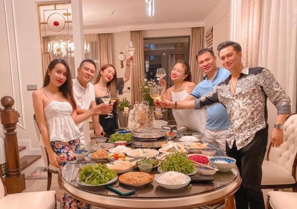 diễn viên Quỳnh Nga, MC Vân Hugo, sao Việt