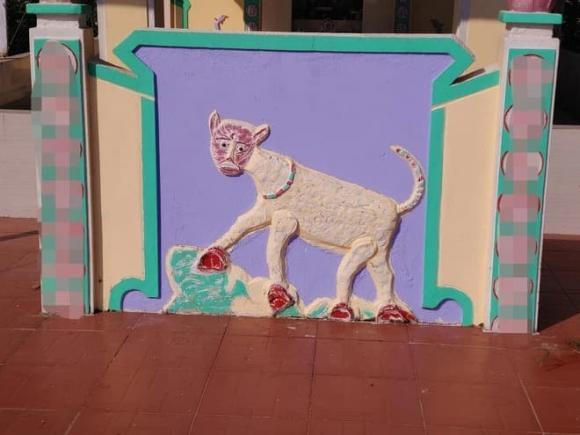 sư tử, miếu tổ, hội hoạ, hình ảnh hài hước