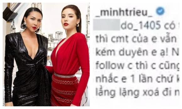 siêu mẫu Minh Triệu, sao Việt