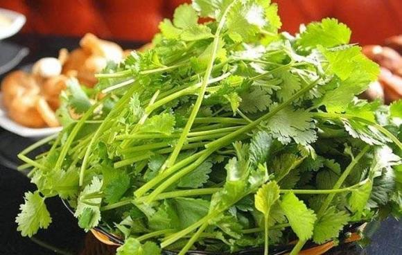nước luộc rau mùi, âm thực, nước luộc rau mùi tốt cho sức khỏe