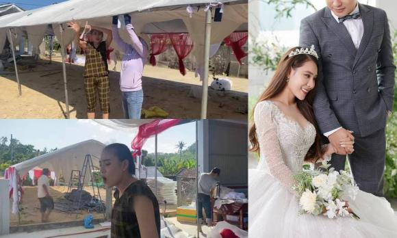 Hồ Bích Trâm, Đám cưới, Nữ diễn viên