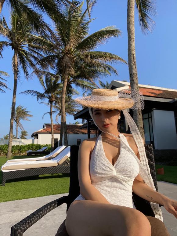 Ca nương Kiều Anh, Ca nương Kiều Anh bikini, sao Việt