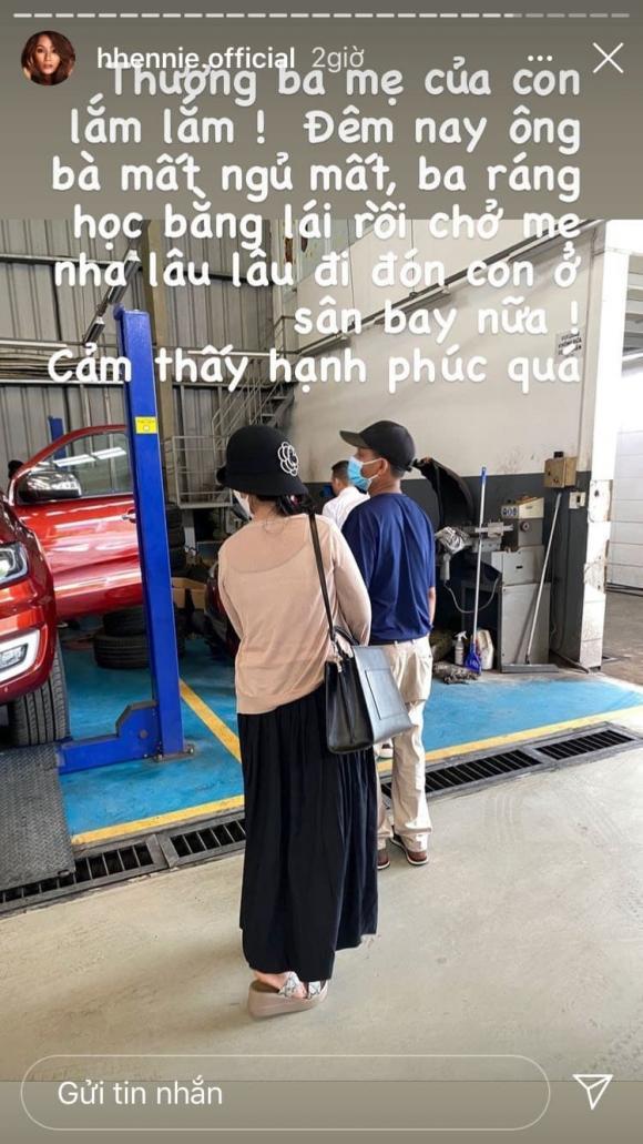 Hoa hậu H'Hen Niê, Tậu xế hộp, Sao Việt