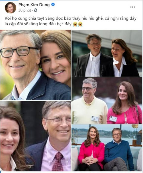 Hà Anh, siêu mẫu Hà Anh, tỉ phú Bill Gates, tỉ phú Bill Gates ly hôn
