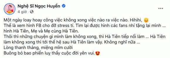 Ngọc Huyền, Hà Tiên, Thanh Tuyền, sao Việt, nghệ sĩ cải lương