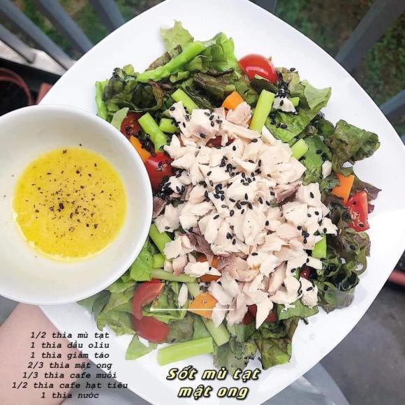 salad, sốt trộn salad, món ngon