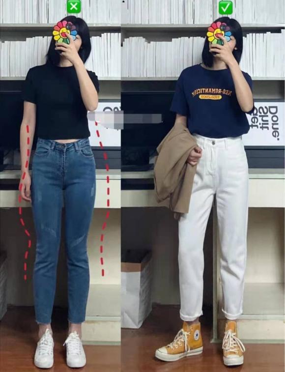 chọn quần, mẹo mặc đẹp